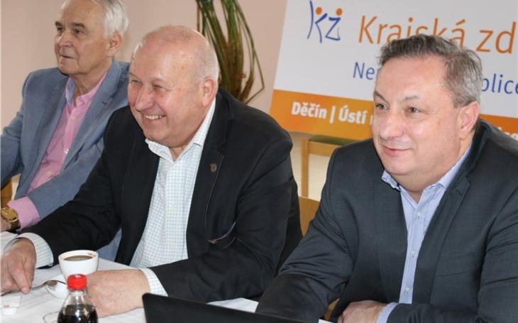 Ústí nad Labem: Vedení Krajské zdravotní oceňuje úsilí zaměstnanců v boji s COVID-19