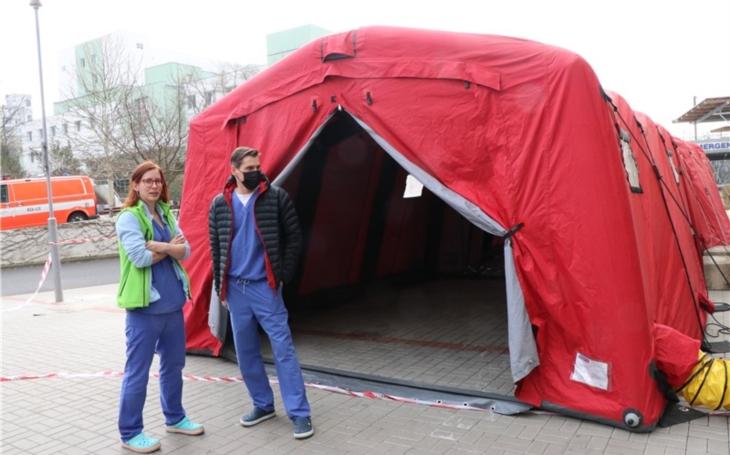 Ústí nad Labem: Krajská zdravotní otevírá od čtvrtka odběrová místa