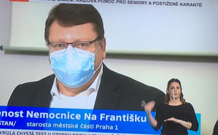Petr Hejma: Nemocnice Na Františku je připravena na přijímání pacientů