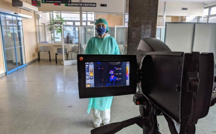Nemocnice Jihlava: Pacienty snímá ode dneška termokamera
