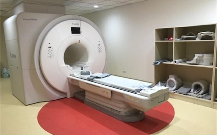 Krajská zdravotní zahájila v děčínské nemocnici provoz pracoviště magnetické rezonance