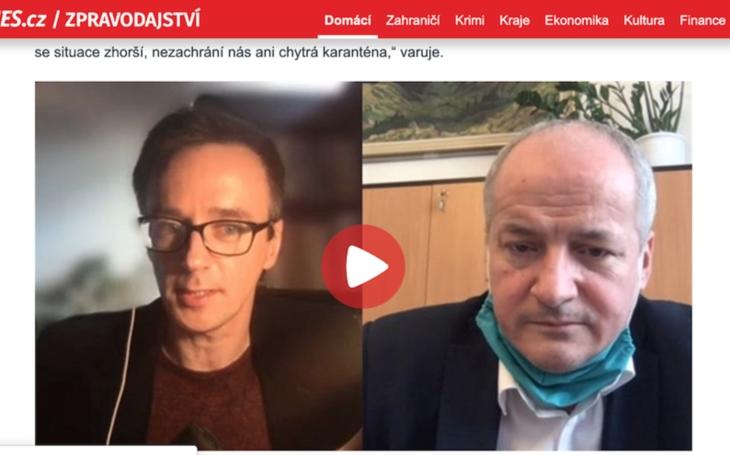 VÝBĚR Z MÉDIÍ:     iDnes.cz, Roman Prymula: Nezodpovědné chování je tikající bomba