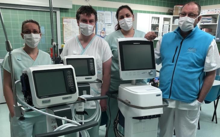 Nemocnice Jihlava: Díky dárcům jsme pořídili třetí nový plicní ventilátor