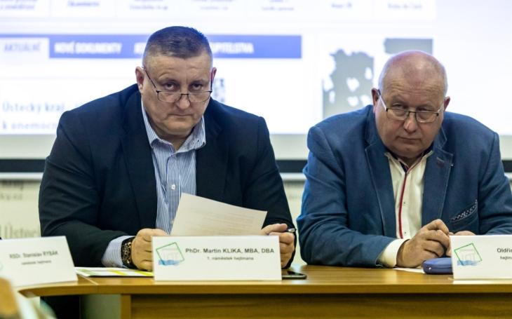 Ústecký kraj: Vedení dnes jednalo pomocí videokonference s městy a obcemi, ostatními kraji i zástupci ministerstev vnitra a kultury