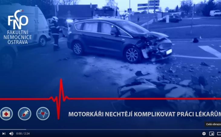 FN Ostrava: MOTORKÁŘI NECHTĚJÍ V DOBĚ PANDEMIE KOMPLIKOVAT PRÁCI LÉKAŘŮM