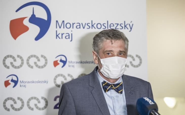 Ivo Vondrák, hejtman Moravskoslezského kraje: Řešíme situace, se kterými jsme se nikdy nesetkali. Krize však lidi spojuje