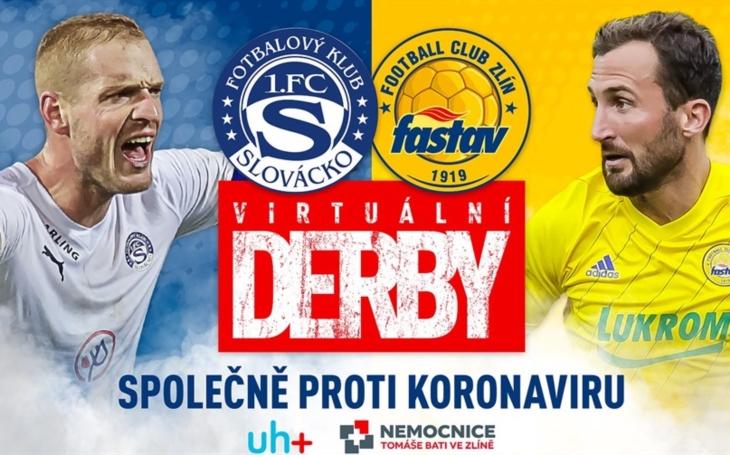 Zlínský kraj: Fotbalové kluby FC FASTAV a 1.FC Slovácko podpoří virtuálním derby nemocnice ve Zlíně a Uherském Hradišti