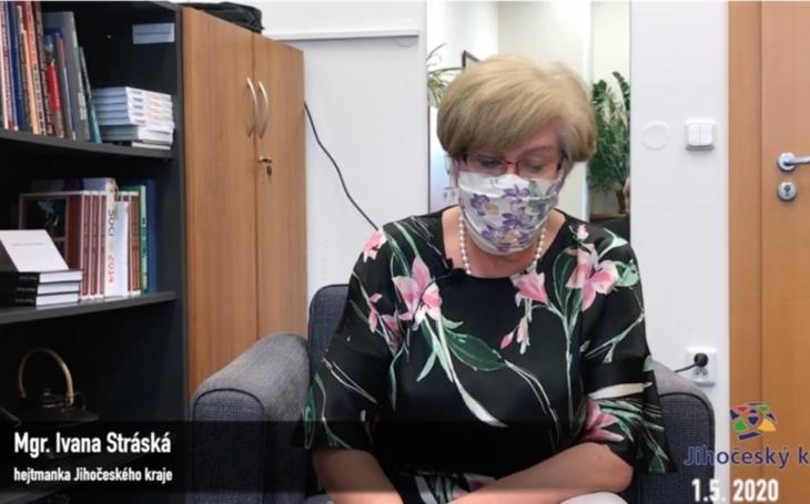 Jihočeský kraj: Videobrífink hejtmanky Ivany Stráské