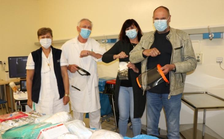 Krajská zdravotní získala od společnosti Instas Melíšek finanční dar pro ústecké pneumoonkochirurgické centrum