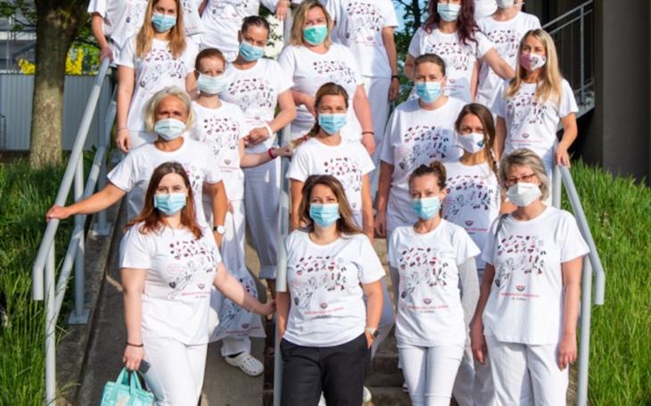 FN Olomouc: Podpora adresovaná zdravotníkům je opravdu mimořádná. Z řad firem i veřejnosti