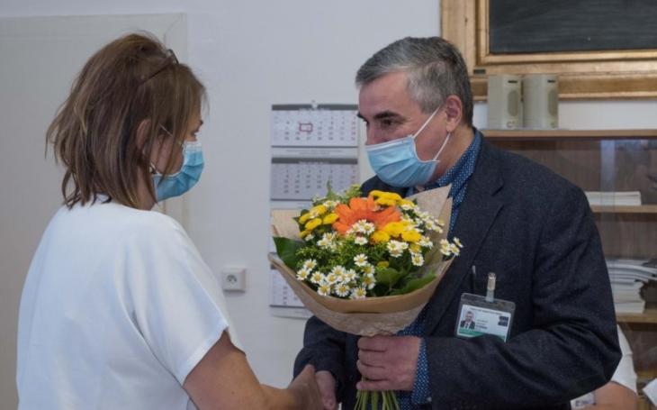 FN Brno: Poděkování zdravotnickému personálu v první linii