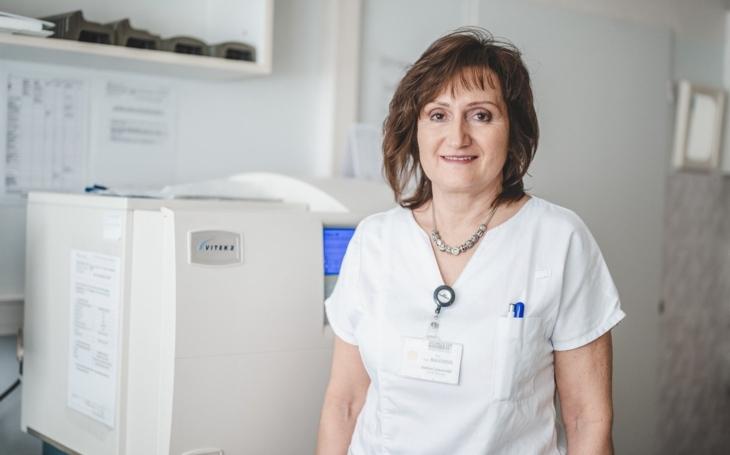 Nemocnice České Budějovice: MUDr. Magda Balejová, vedoucí laboratoře klinické mikrobiologie
