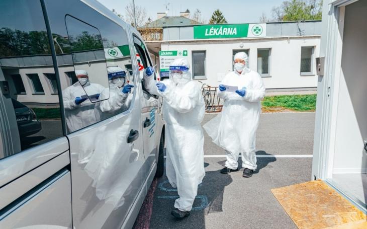Odběrové místo v Kroměřížské nemocnici končí, v provozu tak zůstává pouze stan ve Zlíně
