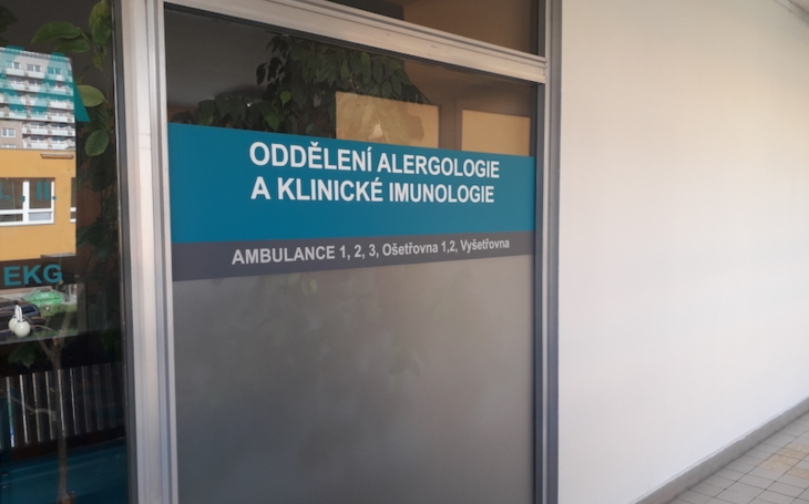 FN Ostrava: Oddělení alergologie a klinické imunologie je nově otevřeno v Poliklinice