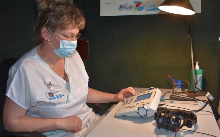 Vsetínská nemocnice nakoupila nové přístrojové vybavení pro ORL za čtvrt milionu korun