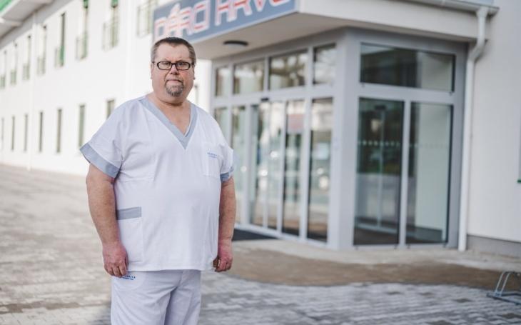 Nemocnice České Budějovice: Dárce krve František Čech: Z rodiny darujeme všichni