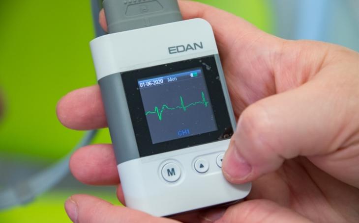 Kroměřížská nemocnice zakoupila osm EKG Holterů pro sledování srdeční činnosti