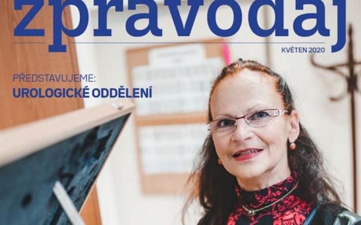 Nemocnice České Budějovice: Představujeme Nemocniční zpravodaj (Květen 2020)