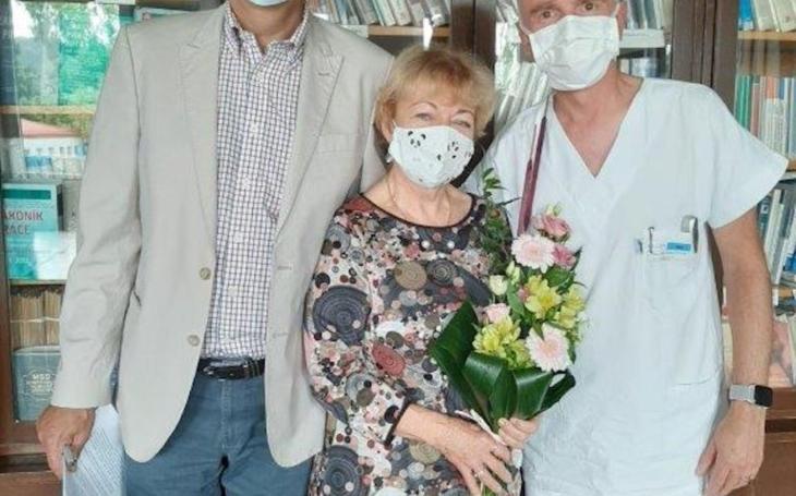 Nemocnice Boskovice: Poděkování prim. MUDr. Blance Vepřekové, Ph. D.