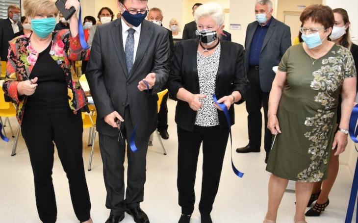 V Táboře otevřeli nové odběrové centrum pro dárce krve za 9,4 milionu Kč