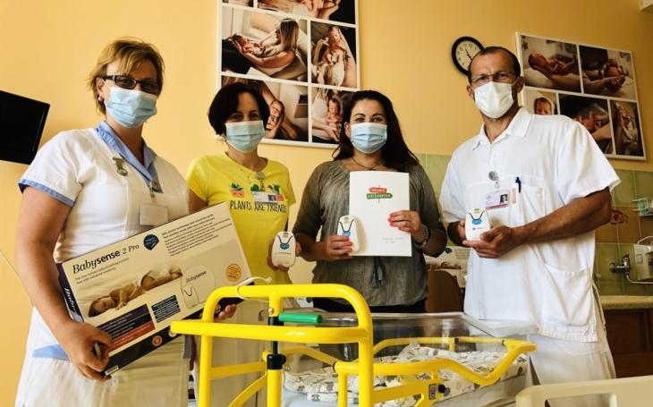 Nemocnice Jihlava: Pro nejmenší pacienty máme dvacet nových monitorů dechu