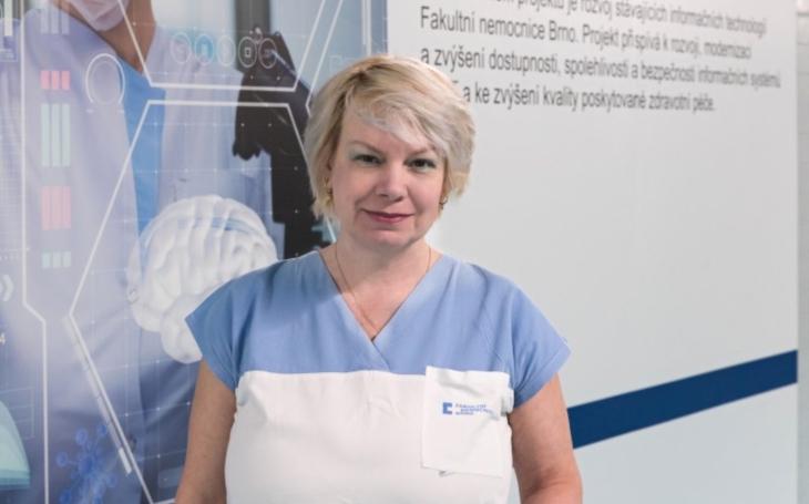 FN Brno: Rok zdravotní sestry a porodní asistentky: Mgr. Táňa Bartošová