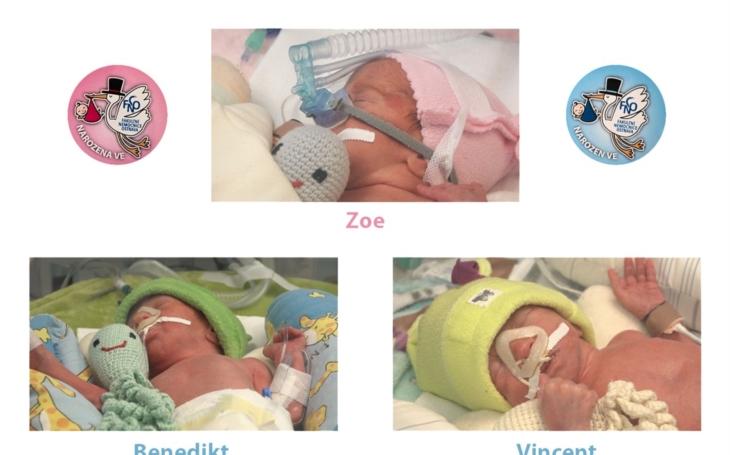 FN Ostrava: Porodníci přivedli na svět letos už druhá trojčata