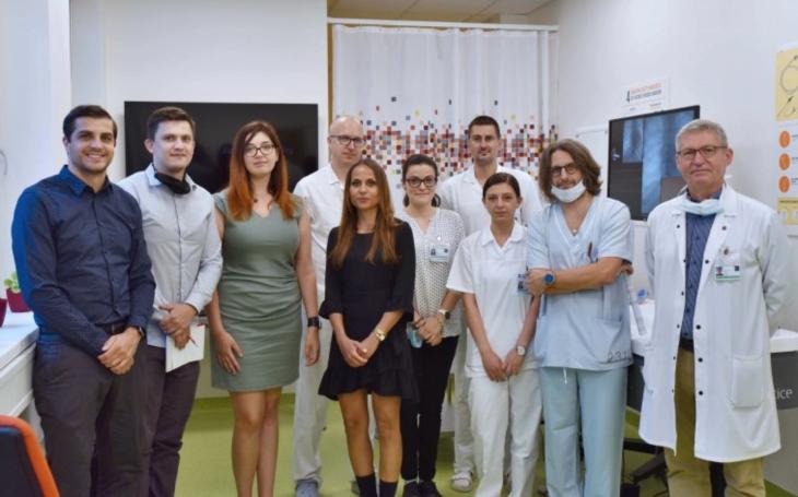 FN Brno: Mezinárodní simulační workshop zaměřený na koronarografické vyšetření
