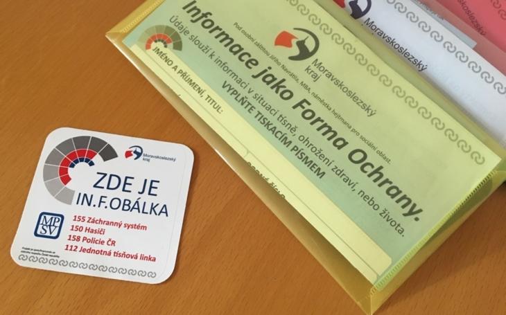 Moravskoslezský kraj: SENIOŘI SE DÍKY IN.F.OBÁLCE CÍTÍ BEZPEČNĚJI, KRAJ ROZDÁ DALŠÍ VÁRKU