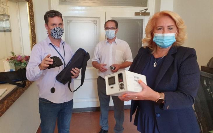 Nemocnice Pardubického kraje: Zdravotnická zařízení získaly termokamery