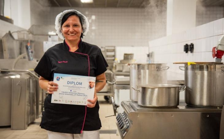 Vepřová pečeně z Fakultní nemocnice Olomouc patří mezi nejlepší jídla společného stravování v České republice