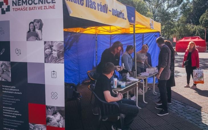 Zlínská nemocnice se zapojila do programu letošního filmového festivalu s nabídkou pomoci kuřákům