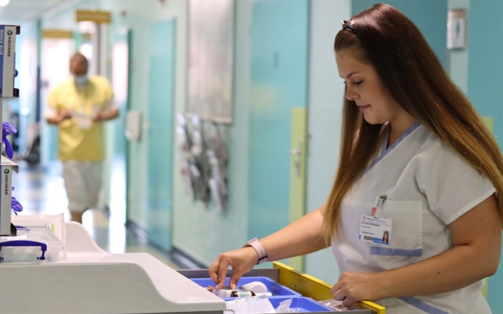 Krajská nemocnice Liberec představuje: Iveta Strnadová, sestra