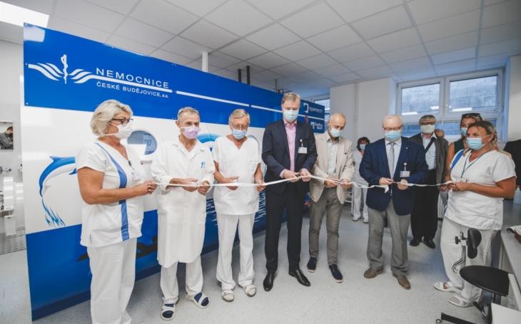 Nemocnice České Budějovice: Pacientům z Jihočeského kraje slouží nová hyperbarická komora