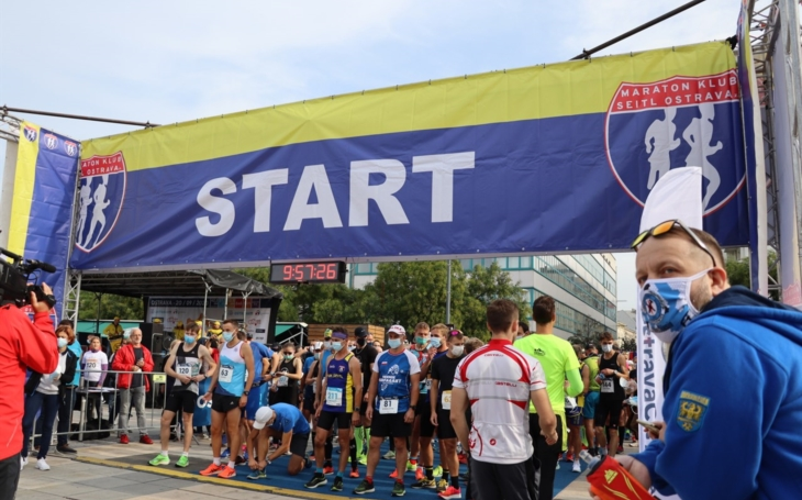 FN Ostrava : Zaměstnanci běželi Ostrava City Marathon!!!