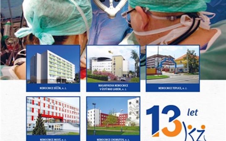 Ústecký kraj: Krajská zdravotní pokračuje v revitalizaci nemocnic, současnému vedení společnosti se daří naplňovat plánované cíle i dlouhodobé projekty