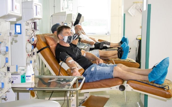 Krevní centrum FN Ostrava hledá dárce, kteří prodělali koronavirovou infekci