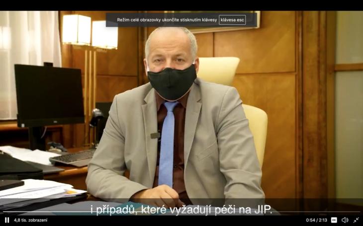 Twitter: Ministr Roman Prymula vysvětluje. Kdo bude zodpovědný za přicházející problémy?