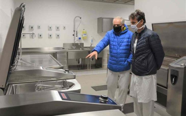 Uherskohradišťské nemocnice: Kuchyně prošla modernizací za padesát milionů korun