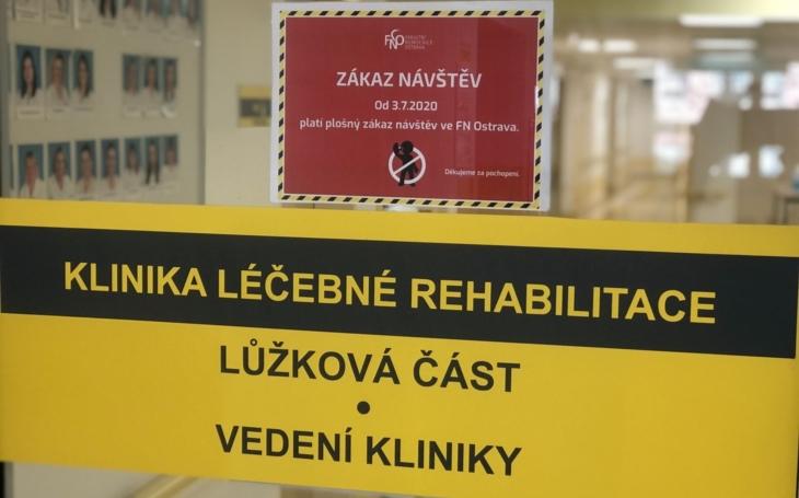 FN Ostrava: Část Kliniky léčebné rehabilitace nově slouží i pacientům, kteří potřebují akutní péči