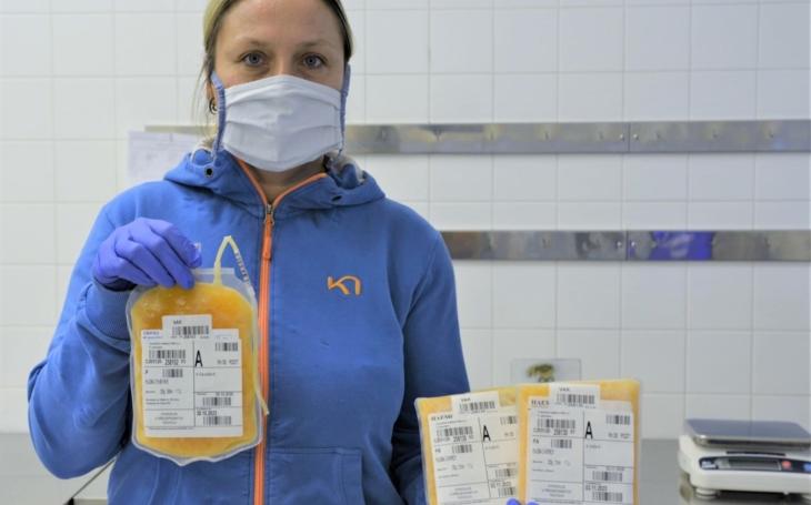 Uherskohradišťská nemocnice provedla první odběry rekonvalescentní plazmy a hledá další dárce