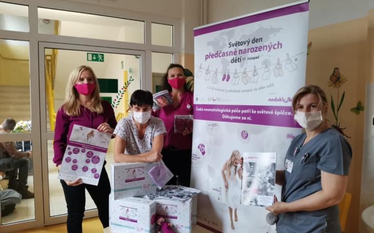 Nemocnice Havlíčkův Brod: Světélka za nedonošené děti