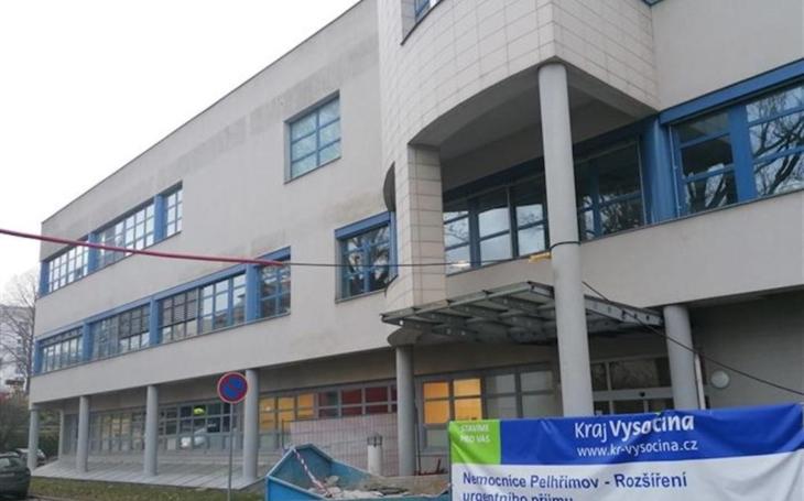 Nemocnice Pelhřimov: Odstartovaly práce na rekonstrukci urgentního příjmu