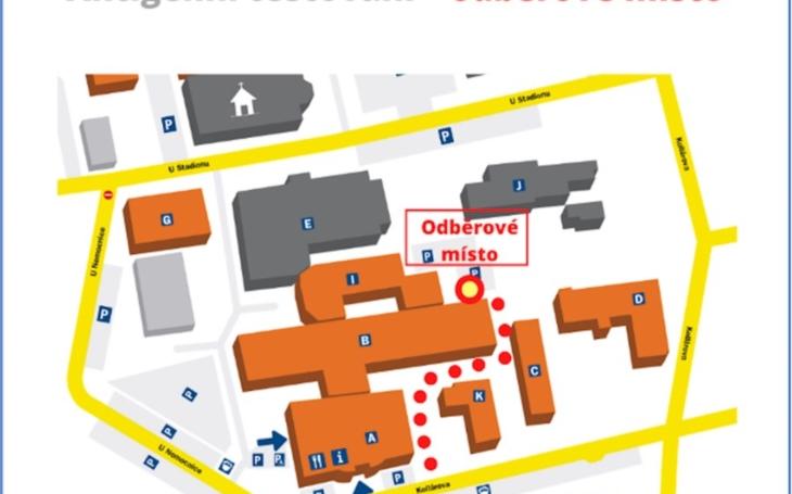Svitavská nemocnice: Startuje antigenní testování pro veřejnost