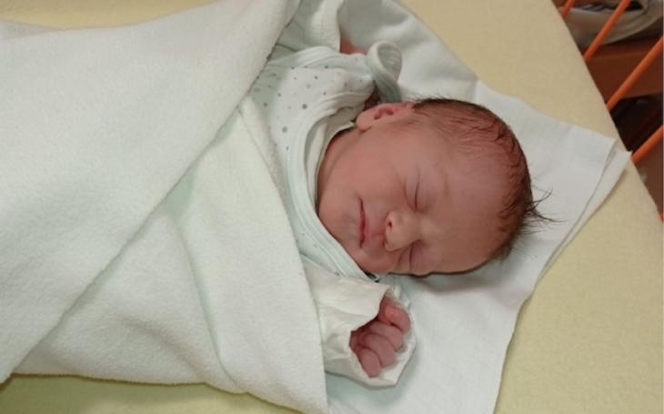 Prvním miminkem na jihu Čech je holčička Inna z Českých Budějovic