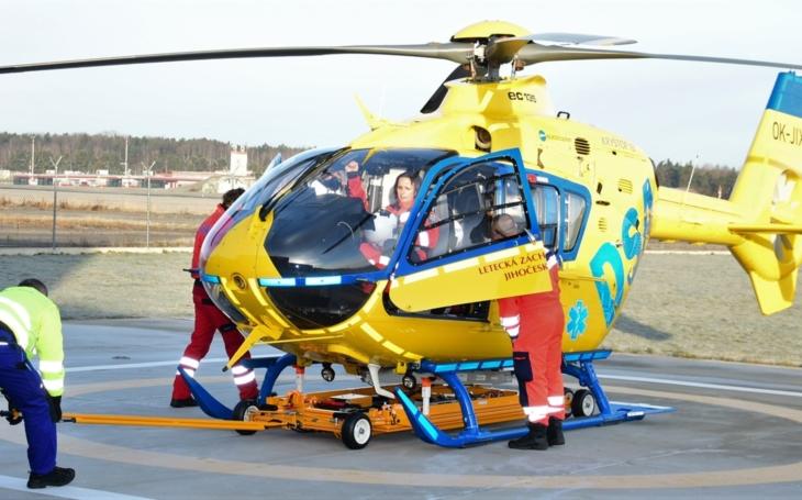 Jihočeský kraj: Letecká záchranná služba se po 4 letech vrátila zpět na základnu do Plané
