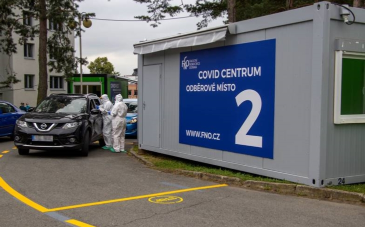 FN Ostrava: COVID centrum pokořilo hranici 120 tisíc odebraných vzorků