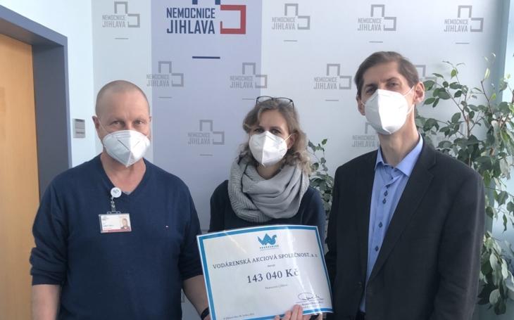 Nemocnice Jihlava: Nové infuzní pumpy pomůžou spéčí o Covid pozitivní pacienty