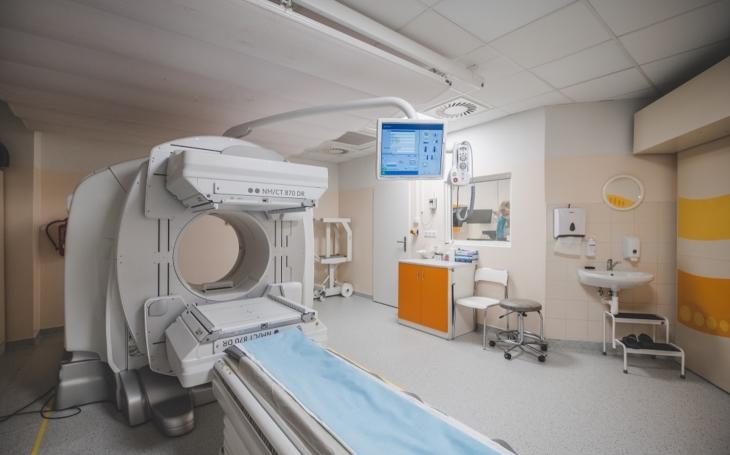 Nemocnice České Budějovice zakoupila novou SPECT/CT kameru