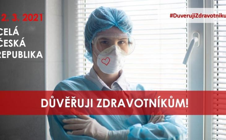 FN Brno: Podporujeme INICIATIVU ZDRAVOTNÍKŮ - DŮVĚŘUJTE NÁM!